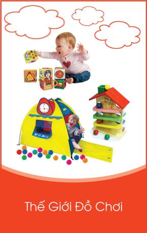 D1- Danh mục phải Thế giới Đồ chơi cho bé