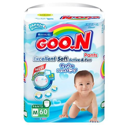 Bỉm quần Goon Slim M60 (7-12kg) 1