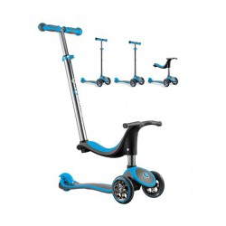 Xe trượt Scooter Globber My Free Seat 4 in 1 - Xanh da trời