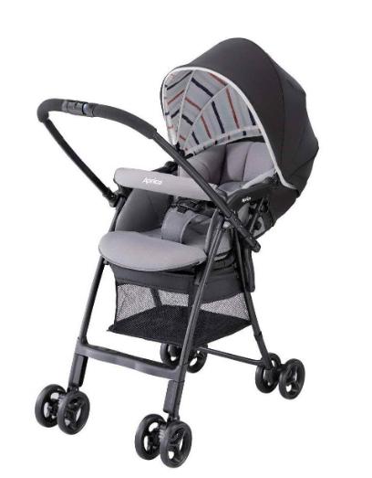 Xe đẩy trẻ em Aprica Karoon Air màu đen 4
