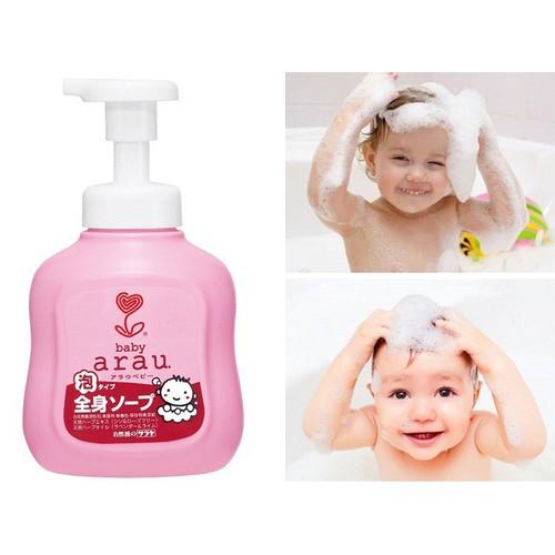 Sữa tắm gội Arau Baby Nhật Bản có thực sự tốt như các mẹ vẫn nghĩ ...