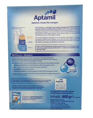 Sữa Aptamil 1+ Đức 2