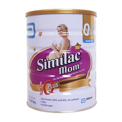 Sữa bột Similac Mom IQ Plus hương vani 900g