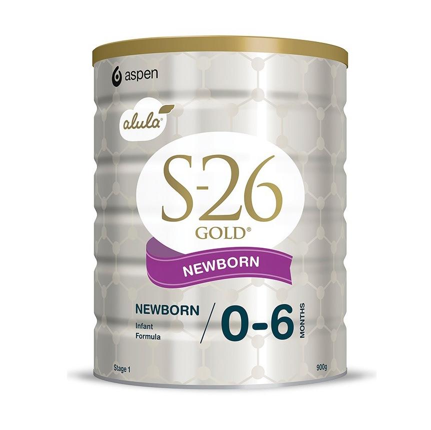 Sữa bột S26 Úc 0 - 6 tháng (900g)