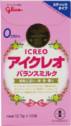 Sữa Glico (Icreo) số 0 dạng thanh (127g)
