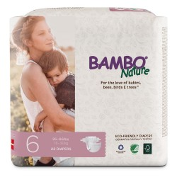 Bỉm dán Bambo Nature Junior 6 (16-30kg)