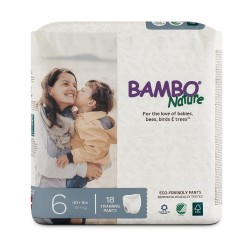 Bỉm quần Bambo Nature Junior 6 (18+ kg)