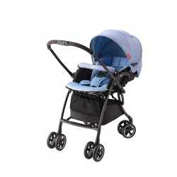 Xe đẩy trẻ em Aprica Luxuna Comfort CTS Blue