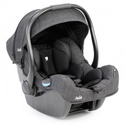 Ghế ngồi ô tô Joie i-Gemm Pavement Grey - sơ sinh đến 13kg (chức năng nôi xách tay)