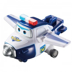 Máy bay mini Superwings - Cảnh Sát Paul (6.0x7.3x3.3 cm)