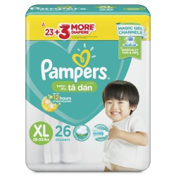Bỉm dán Pampers TK Philippines XL26