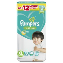 Bỉm dán Pampers jumbo Philippines XL60
