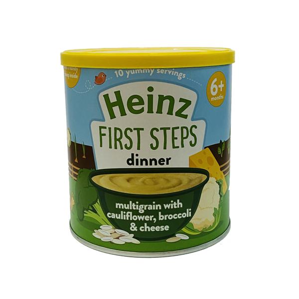 Ngũ cốc Heinz súp lơ bông cải và phô mai 6+ 200g
