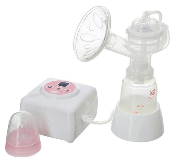 Máy hút sữa điện đơn Unimom Allegro có maxa silicone UM880106 1
