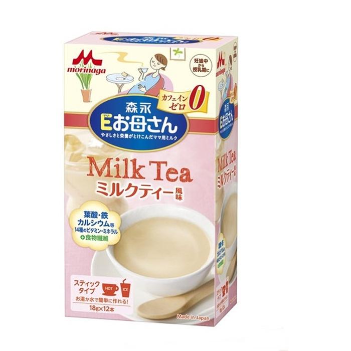 Image result for sữa bầu morinaga vị trà sữa